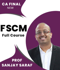 CA Final New Financial Services and Capital Market Full Course Video Lectures By Prof Sanjay Saraf - Zeroinfy