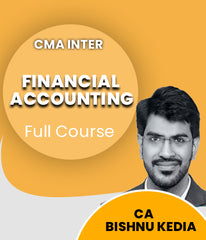 CMA Inter Financial Accounting Full Course Video Lectures By CA Bishnu Kedia - Zeroinfy