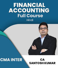 CMA Inter (New) Financial Accounting Full Course Video Lecture By Santosh Kumar - Zeroinfy
