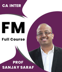 CA Inter Financial Management Full Course Video Lectures By Prof Sanjay Saraf - Zeroinfy