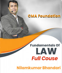 CMA Foundation (New) Fundamentals Of Laws and Ethics By CA Nilamkumar Bhandari - Zeroinfy