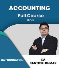 CA Foundation Accounting Full Course By Santosh Kumar - Zeroinfy