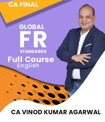 CA Final Global Financial Reporting Standards Video Lectures By Vinod Kr. Agarwal (New) - Zeroinfy