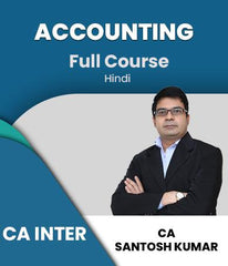 CA Inter Accounting Full Course By Santosh Kumar (New) -Zeroinfy