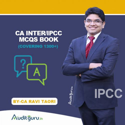 CA Inter/IPCC Audit MCQs Book By Ravi Taori - zeroinfy