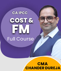 CA IPCC Cost And Financial Management (Test Series) By Chander Dureja