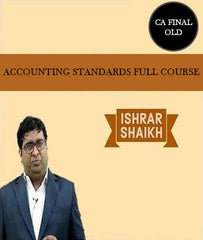CA Final Accounting Standards Full Course Video Lectures By Ishrar Shaikh (Old) - Zeroinfy