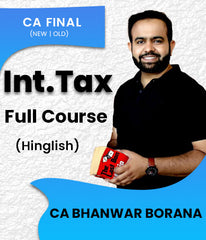 CA Final Elective International Tax Full Course By Bhanwar Borana - Zeroinfy