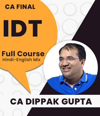 CA Final Indirect Tax Full Course By Dippak Gupta - Zeroinfy