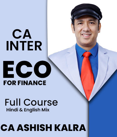 CA Inter ECO For Finance Full Course Video Lectures By Ashish Kalra - Zeroinfy