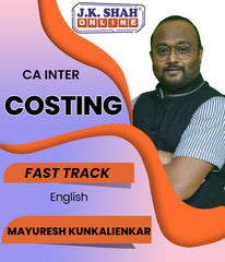 CA Inter Cost and Management Accounting Fast Track English Full Course By J.K.Shah Classes - Prof Mayuresh - Zeroinfy