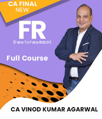 CA Final New Financial Reporting Full Course Face To Face Batch By CA Vinod Kumar Agarwal - Zeroinfy