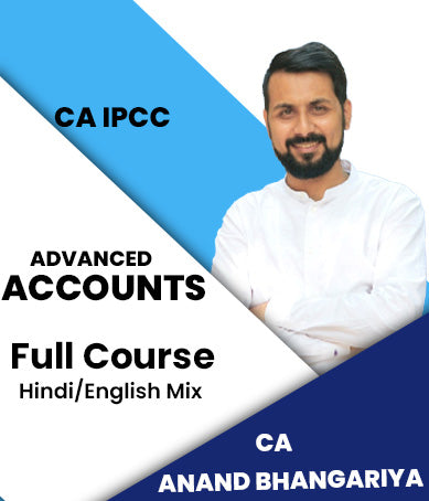 CA IPCC Advanced Accounting Full Course By Anand Bhangariya (Old) - Zeroinfy