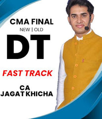 CMA Final Direct Tax Fast Track Video Lectures By CA Jagat Khicha (Old/New)
