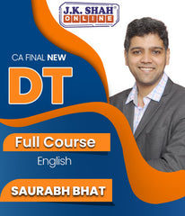 CA Final Direct Tax Full Course By J.K.Shah Classes - Prof Saurabh Bhat - Zeroinfy