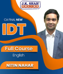 CA Final Indirect Tax Full Course By J.K.Shah Classes - Prof Nitin Nahar - Zeroinfy