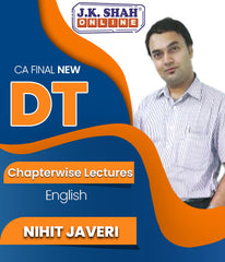 CA Final Direct Tax Chapterwise Lectures By J.K.Shah Classes - Prof Nihit Javeri - Zeroinfy