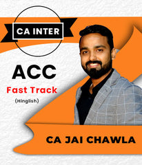 CA Inter Account Fast Track by Jai Chawla (New) - Zeroinfy