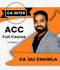 CA Inter Account Full Course Video Lecture by Jai Chawla (New) - Zeroinfy