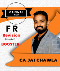 CA Final New FR Revision Booster by CA Jai Chawla - Zeroinfy
