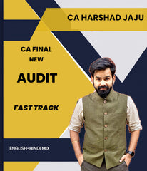 CA Final Auditing Fast Track New Syllabus By CA Harshad Jaju - Zeroinfy