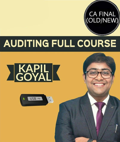 CA Final Audit Regular Video Lecture By Kapil Goyal (Old/New) - Zeroinfy