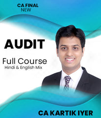 CA Final Audit Full Course By Kartik Iyer (New) - Zeroinfy
