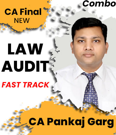 CA Final Law and Audit Fast Track Combo By Pankaj Garg (New) - Zeroinfy