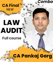 CA Final Law and Audit Full Course Combo By Pankaj Garg (New) - Zeroinfy