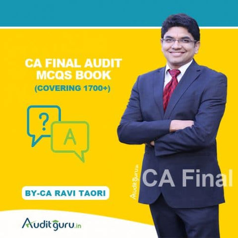 CA Final (Old/New) Audit MCQs Book By Ravi Taori - Zeroinfy