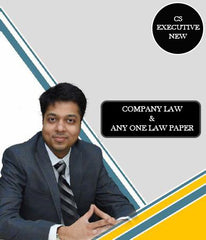 CS Executive Company Law and Any One Law Paper Combo By CA Mohit Agarwal - Zeroinfy