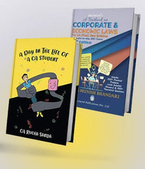 A Day In the Life of a CA Student and CA Final New Corporate and Economic Laws May 21 Text Book By CA Rucha Sarda and CA Munish Bhandari - Zeroinfy