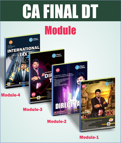 CA Final Direct Taxes Regular Course Book Set By Vijay Sarda - Zeroinfy