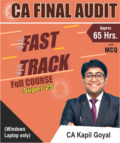 CA Final Audit Super 25 Fast Track Course By Kapil Goyal (Old/New) - Zeroinfy