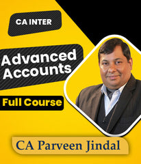 CA Inter Advanced Accounts Full Course By CA Parveen Jindal (New) - Zeroinfy