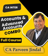 CA Inter Accounts & Advance Accounts Full Course Video Lecture By Parveen Jindal- 1.5 Views (New) - Zeroinfy