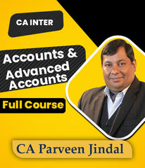 CA Inter Accounts and Advance Accounts Combo Full Course Video Lecture By CA Parveen Jindal- 2 Views - Zeroinfy