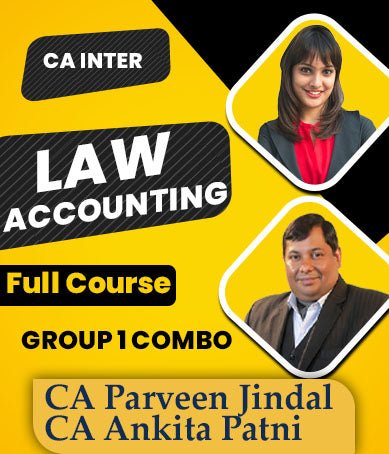 CA Inter Accounting And Law Full Combo By Parveen Jindal & Ankita Patni - Zeroinfy