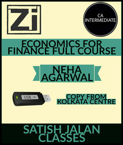CA Intermediate Economics For Finance Full Course Video Lectures By Neha Agarwal - Zeroinfy