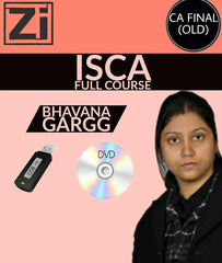 CA Final (Old) ISCA Full Course Video Lectures By Bhavana Gargg - Zeroinfy