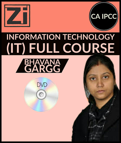 CA IPCC Information Technology (IT) Full Course Video Lectures By Bhavana Gargg - zeroinfy