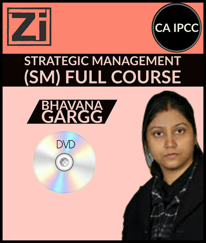 CA IPCC Strategic Management (SM) Full Course Video Lectures By Bhavana Gargg - zeroinfy
