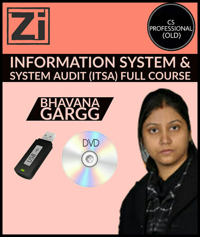 CS Professional (Old) ITSA Full Course Videos Bhavana Gargg - zeroinfy