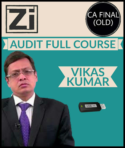 CA Final (Old) Audit Full Course Video Lectures By Vikas Kumar - Zeroinfy