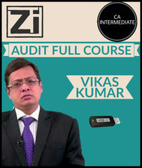 CA Intermediate Audit Full Course Video Lectures By Vikas Kumar - Zeroinfy