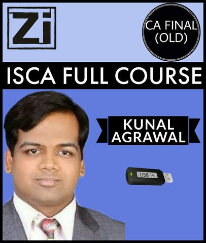 CA Final (Old) ISCA Full Course Video Lectures By Kunal Agrawal - Zeroinfy