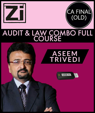CA Final (Old) Audit And Law Combo Full Course Video Lectures By Aseem Trivedi - zeroinfy