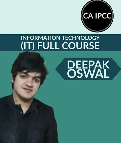 CA IPCC Information Technology (IT) Full Course Video Lectures By Deepak Oswal - Zeroinfy