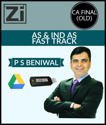 CA Final (Old) AS And IND AS Fast Track Video Lectures P S Beniwal - zeroinfy