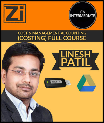CA Intermediate Cost And Management Accounting (Costing) Full Videos By Linesh Patil - Zeroinfy